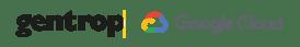 Logo Gentrop e Google Cloud